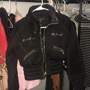 Baby Phat cropped jacket